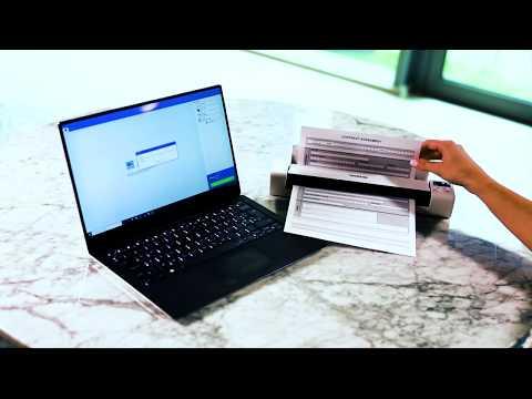 Brother DS640, DS740D og DS940DW. Mobile skannere for digitalisering av dokumenter når på farten.