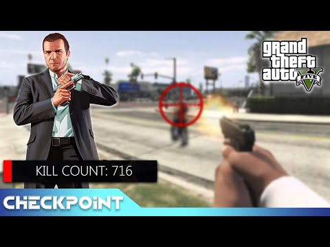 GTA5 Player Discovers Fewest Possible Kills   Checkpoint