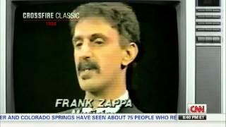 Crossfire Classic 1986 - Frank Zappa talks dirty lyrics in music