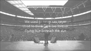 Passenger - When We Were Young (lyrics on screen)