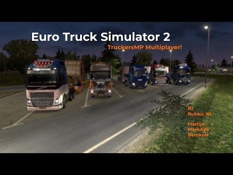 Euro Truck Simulator 2 TruckersMP Opname 21092017
