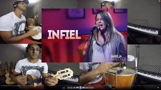 """Infiel """"MARÍLIA MENDONÇA"""" Versão Pagode - Cavaco - Percussão"""