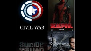 DC/Marvel Tribute 2016- BvS/Civil War/Deadpool/Suicide Squad - Music Video (Hero By Skillet) 2016