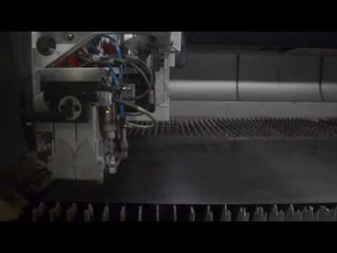 Salvagnini L3 Fiber laser 4000W at DELHEZ, Belgium