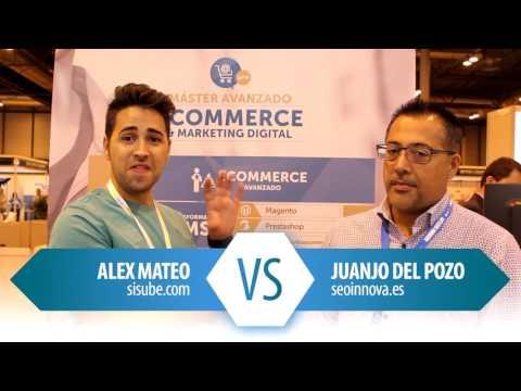 Batalla SEO entre Alex Mateo VS Juanjo del Pozo para Ecommaster