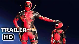 "DEADPOOL 2 ""Mini Deadpool"" IMAX Trailer (NEW 2018) Action Movie HD"