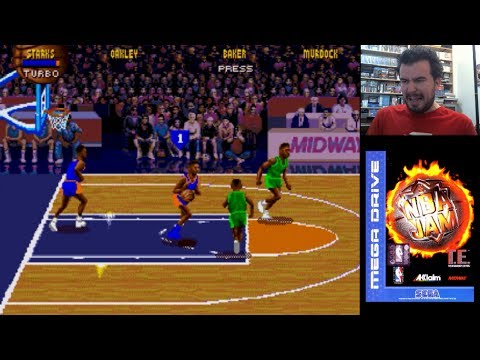 NBA JAM TOURNAMENT EDITION (Megadrive / SNES) - Gameplay en Español