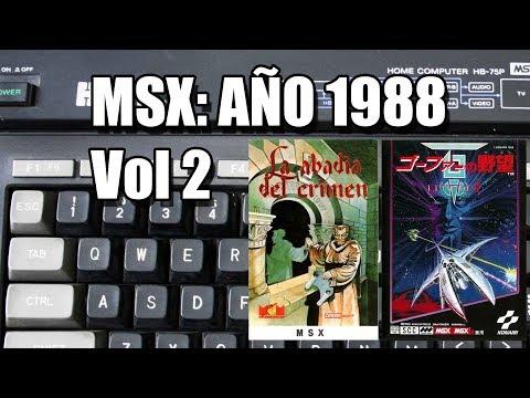 ESPECIAL MSX: AÑO 1988 VOLUMEN 2