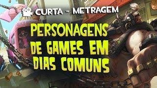 Personagens de Games em dias Comuns 2 - Curta de Animação - Quasar Jogos