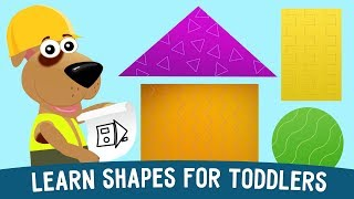 Learn Shapes for toddlers, preschool and kindergarten kids
