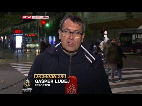U Ljubljani okončan šesti protest protiv COVID mera