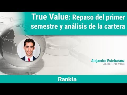 En el próximo webinar Alejandro Estebaranz, asesor del fondo True Value, hará un repaso de la evolución del fondo durante el primer semestre y comentará las principales novedades en las carteras. Además, en el turno de preguntas responderá a todas las dudas de los asistentes.