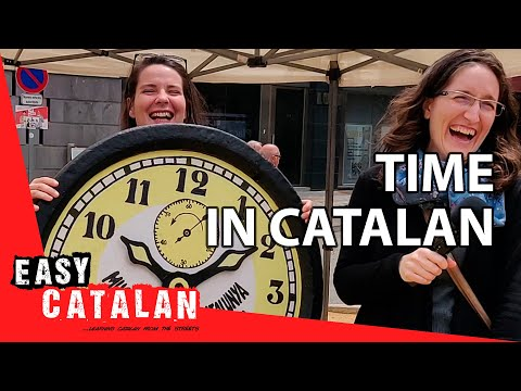 How to tell time in Catalan | Super Easy Catalan 10 photo