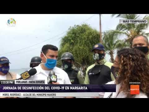 Nueva Esparta - Jornada de desinfección en el municipio Maneiro
