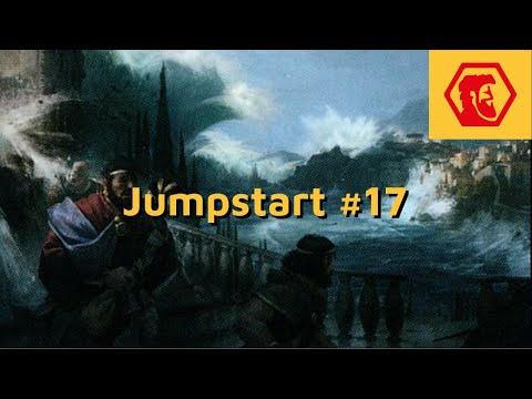 MTGA Jumpstart #17 - Além do Mar Predatório
