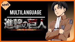 Shinzou wo Sasageyo! Multilanguage / Shingeki no Kyojin Season 2 Opening Lyrics