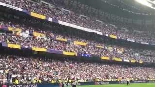 Hala Madrid y Nada Mas! Himno decima casi a capela real madrid juventus