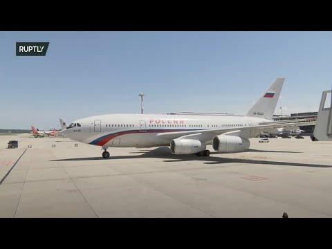 LIVE: Putin lands in Geneva for Russia-US summit photo