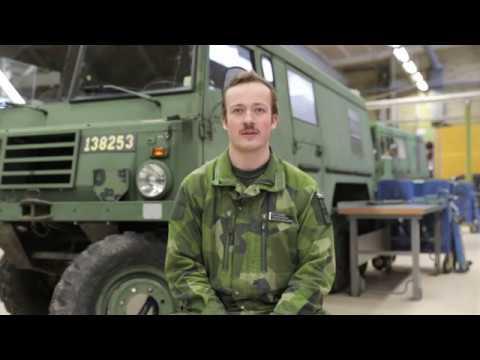 Mekaniker på Trängregementet