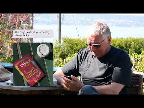 Lars Saabye Christensen og Roy Jacobsen sender sms med bøker #denfølelsen