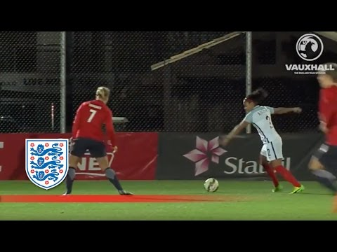 Norway Women 1-0 England Women | Official Highlights