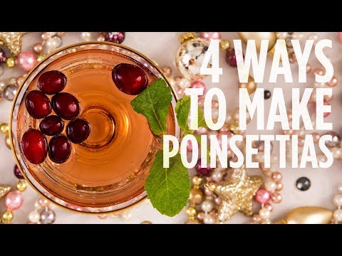 4 Ways to Make Poinsettias | Drink Recipes | Allrecipes.com