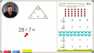 Bug Math: Multiplication and Division