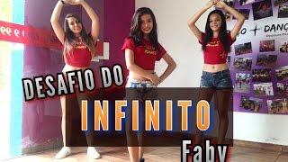 Desafio do Infinito - Faby - Coreografia   Cia Mais Dança