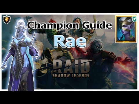 RAID Shadow Legends | Champion Guide | Rae