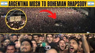 Green Day en Argentina 2017 - Pogo con Bohemian Rhapsody