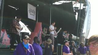 Inspire the Liars - Dance Gavin Dance (Live @ Warped Tour | Glendale, AZ | 6/22/17)