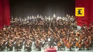 "La Orquesta de Hamburgo toca merengue ""Caña Brava"""