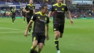 Pedro goal (Everton vs Chelsea 0-3)