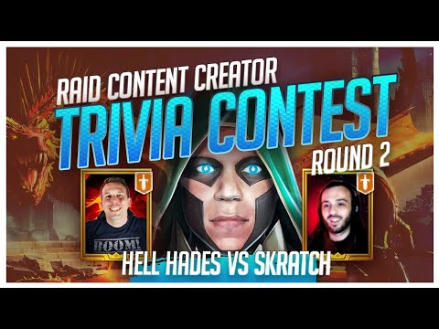 RAID | Trivia Contest | R2 | HellHades vs Skratch!