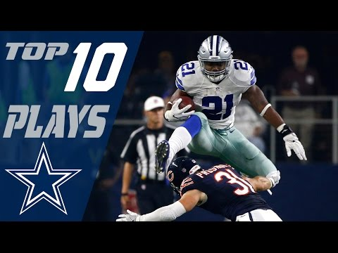 Cowboys Top 10 Plays of the 2016 Season | NFL Highlights