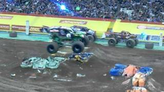 Grave Digger's Freestyle at the Carrier Dome 3-12-2011