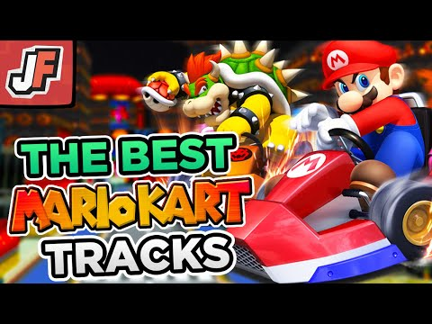 The BEST Courses in EVERY Mario Kart Game!