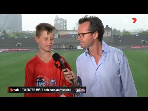 2017 NAB AFL Auskicker of the Year – Rd 8 Nominee