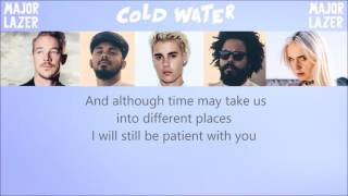 "Major Lazer - ""Cold Water"" Acoustic Instrumental + Lyrics"