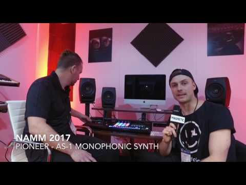 NAMM 2017 -  Pioneer AS-1 Synth In Conjunction With Dave Smith