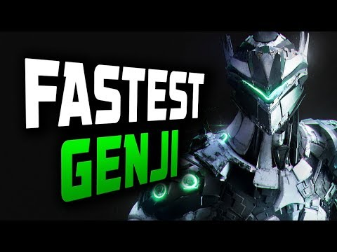 IMPOSSIBLE GENJI - Architect! Korean Genji God! [ OVERWATCH SEASON 12 TOP 500 ]