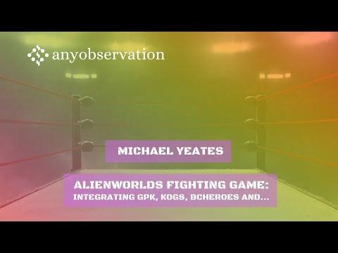 Alienworlds fighting game walk through | Clip from interview