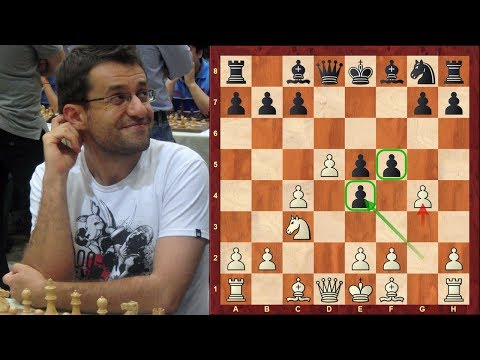 Amazing Chess Game: Levon Aronian vs Nigel Short Tradewise Gibraltar (2018) :  English Opening
