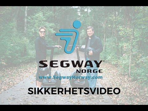 Sikkerhetsvideo, Segway Norge - SegwayNorway.com