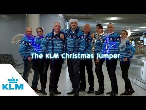 KLM's Christmas Jumper Fashion Show 2017
