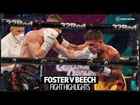 What a fight! Brad Foster v James Beech British title fight highlights 8