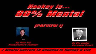 90% Mental Hockey Audiobook Preview #1a by Pete Fry & Linda