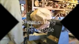 Roughing an Ash urn
