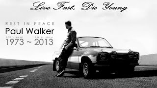 See You Again--For Paul Walker
