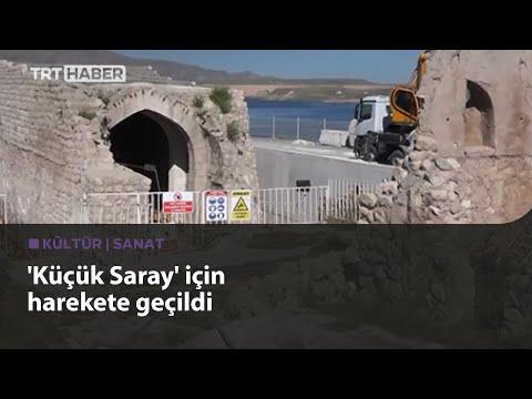 Hasankeyf'teki 700 yıllık Küçük Saray yükseltiliyor